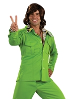 70 ' s vert Leisure Suit Disco Déguisement Homme