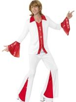 Costume masculin Super Trooper Disco Déguisement Homme