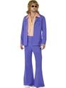Disco Déguisement Homme Mens années 1970 Leisure Suit Costume