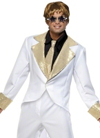 70 s rocket Man Costume Disco Disco Déguisement Homme