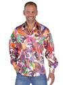 Disco Déguisement Homme 70 ' s Mens amusant chemise en Satin