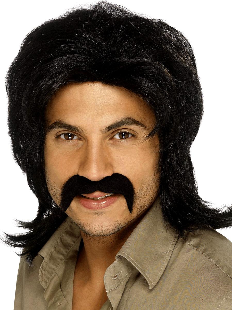 Perruque Disco 70 ' s Guy perruque noire