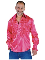 Mens Soul chemise rose Vêtement Disco
