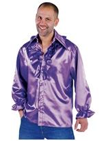 Mens Soul chemise mauve Vêtement Disco
