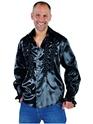Vêtement Disco Mens Soul chemise noir