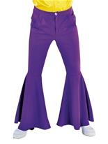 Pantalon Hippie violet luxe Mens Vêtement Disco