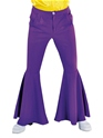 Vêtement Disco Pantalon Hippie violet luxe Mens