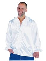 Mens Soul chemise blanc Vêtement Disco