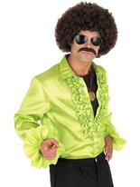 Chemise Disco verte Vêtement Disco