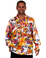 Vêtement Disco Chemise jabot Mens PUNK