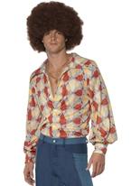 Chemise rétro années 70 Vêtement Disco