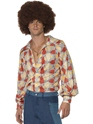 Vêtement Disco Chemise rétro années 70