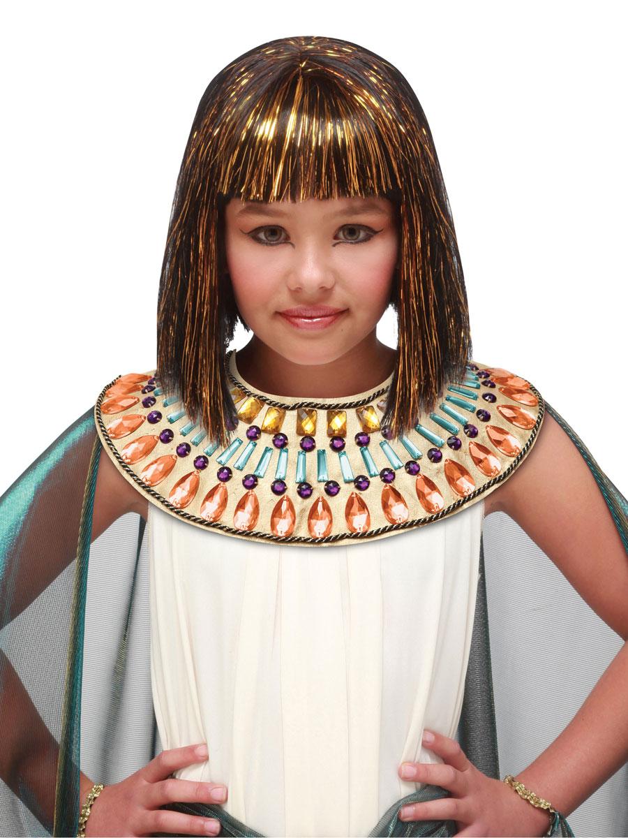 Accessoire Deguisement Perruque égyptienne Childs