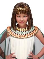 Perruque égyptienne Childs Accessoire Deguisement
