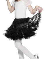 Jupon noir en couches Accessoire Deguisement
