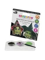 Kit de peinture pour le visage méchante sorcière Accessoire Deguisement
