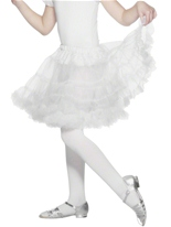 Jupon blanc en couches Accessoire Deguisement