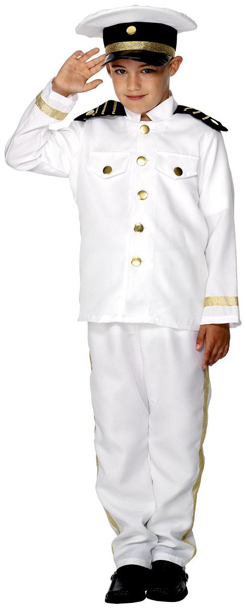 Déguisement Garçons Costume de capitaine pour enfants