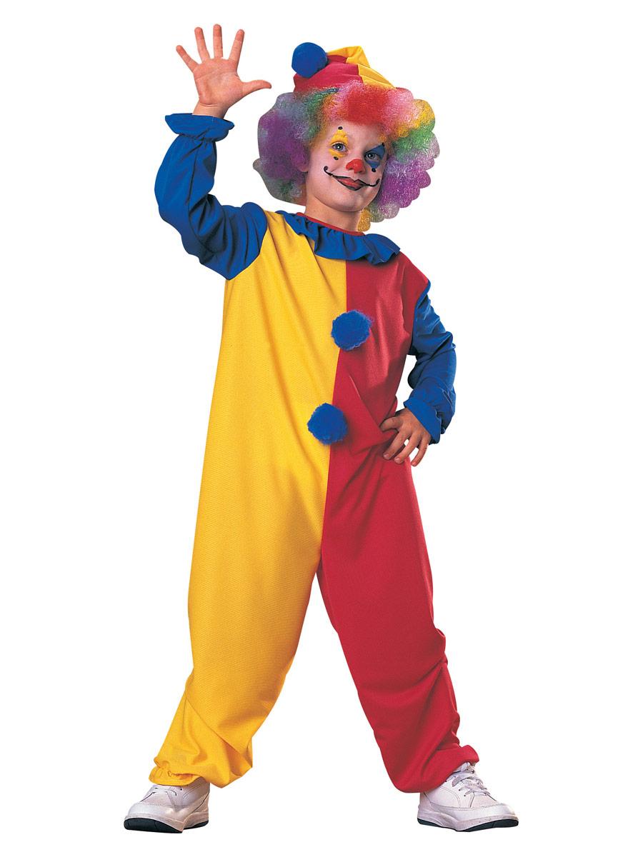 Déguisement Garçons Costume de Clown enfant