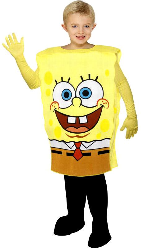 Déguisement Garçons Costumes pour enfants Bob l'éponge