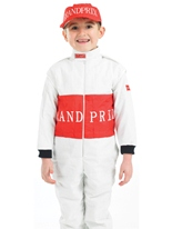 Costume pour enfants de pilote de course Déguisement Garçons