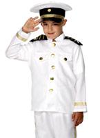 Costume de capitaine pour enfants Déguisement Garçons