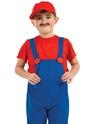 Déguisement Garçons Compagnon rouge pour enfants Costume plombier
