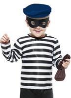 Enfant Costume Burgular Déguisement Garçons