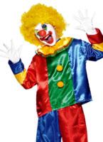 Costume pour enfants aux couleurs vives de Clown luxe Déguisement Garçons