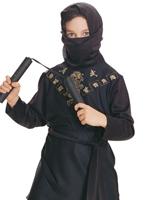 Costume de Ninja noir enfant Déguisement Garçons