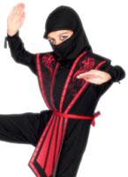Costume de Ninja pour enfants Déguisement Garçons