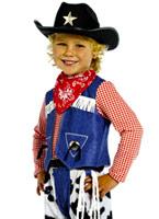 TBM Costume de Cowboy pour enfants Déguisement Garçons
