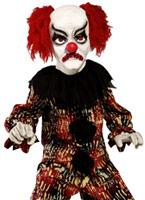 Costume de Clown effrayant Zombie Alley pour enfants Déguisement Garçons