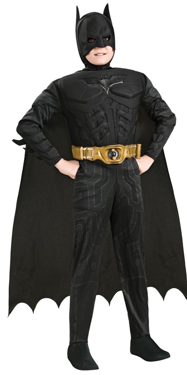 Enfant Super Héros Costume de Batman The Dark Knight luxe enfant