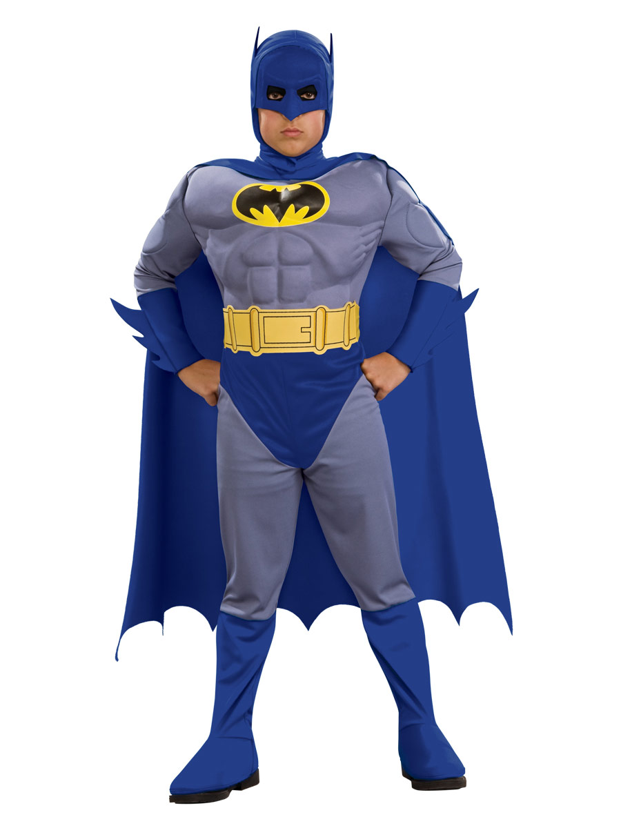 Enfant Super Héros Costume de Batman Musclechest pour enfants