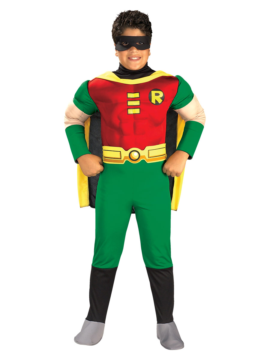 Deluxe muscle poitrine robin childrens costume enfant super h ros costume enfant 14 07 2018 - Costume de super heros ...