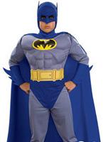 Costume de Batman Musclechest pour enfants Enfant Super Héros