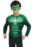 Costume Deluxe Muscle poitrine Hal Jordon pour enfants Enfant Super Héros