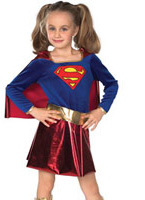 Costume de Supergirl Childrens Enfant Super Héros