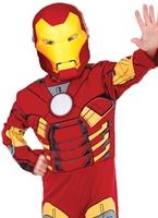 Avengers Deluxe enfant Costume de l'homme de fer Enfant Super Héros