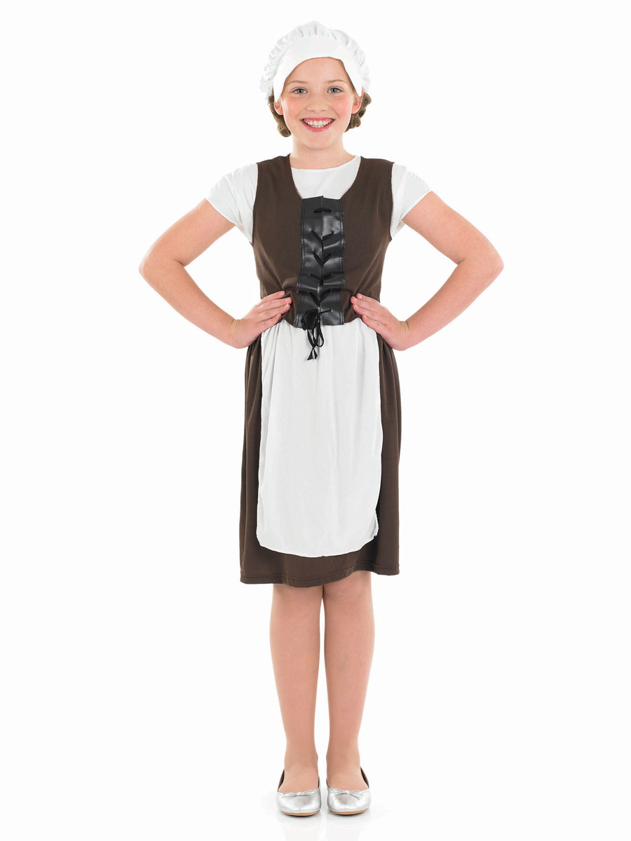 Costume Ecolier Tudor Girl Costume