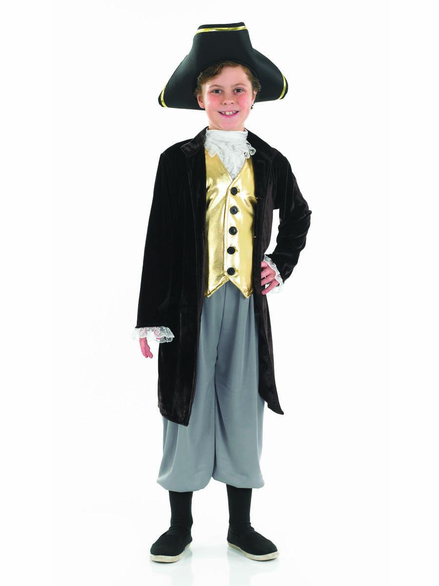 Costume Ecolier Costume pour enfants jeunes Gentlemens