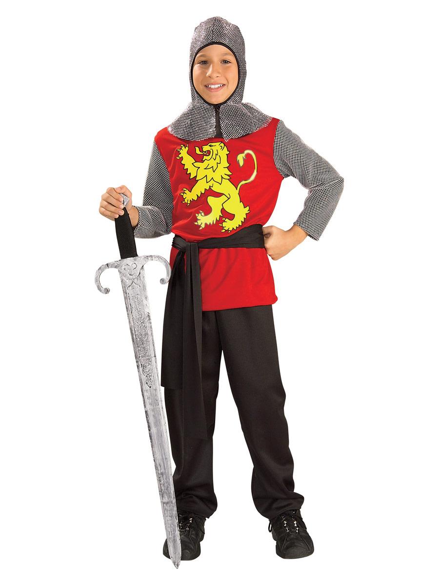 Costume Ecolier Costume de Lord médiévale pour enfants