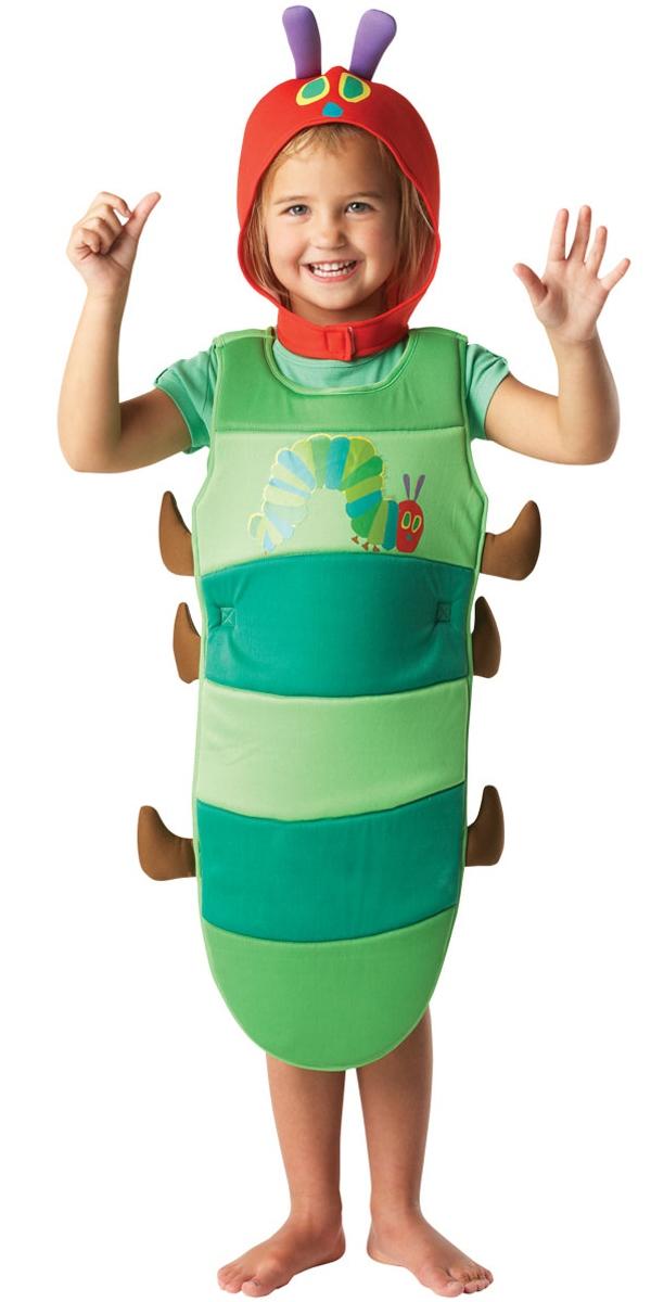 Costume Ecolier Le Costume de chenille très faim d'enfant