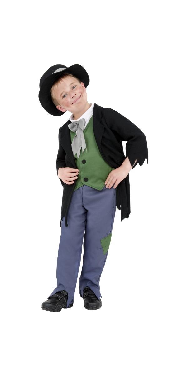 Costume Ecolier Costume pour enfants garçon victorien douteux