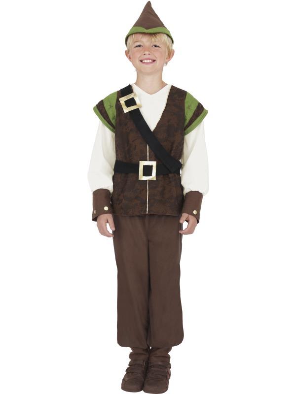 Costume Ecolier Costume de Robin des bois pour enfants