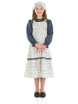 Victorian School Girl Costume de Childrens Costume Ecolier