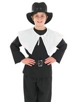 Costume pour enfants garçon puritain Costume Ecolier