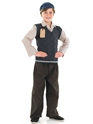 Costume Ecolier Costume de Childrens evacuee School Boy