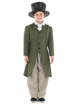 Regency garçon Childrens Costume Costume Ecolier